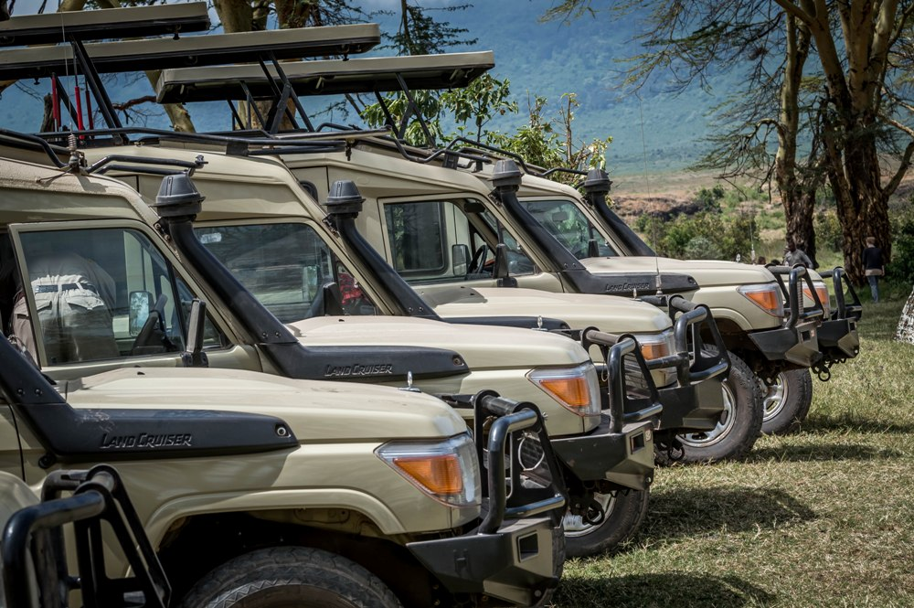 Tanzania Safari Vehicles