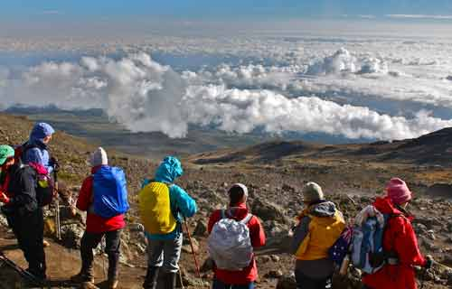 Kilimanjaro Trekking 7 Days Lemosho Via The Western Breach