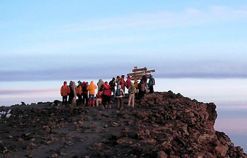 Kilimanjaro Trekking Marangu Toute 5 Days 4 Nights