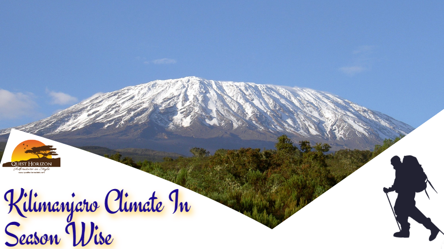 Kilimanjaro Climate In Season Wise