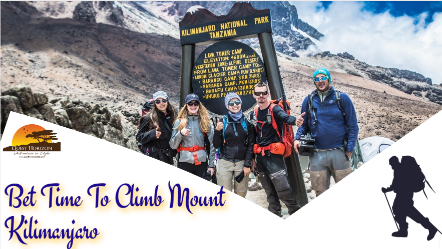Bet Time To Climb Mount Kilimanjaro
