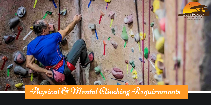 Physical & Mental Climbing Requirements