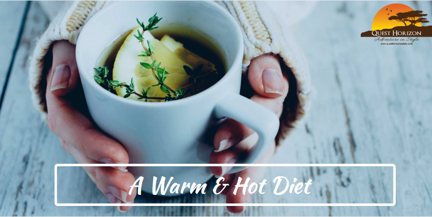 Take A Warm & Hot Diet During The Rainy Season